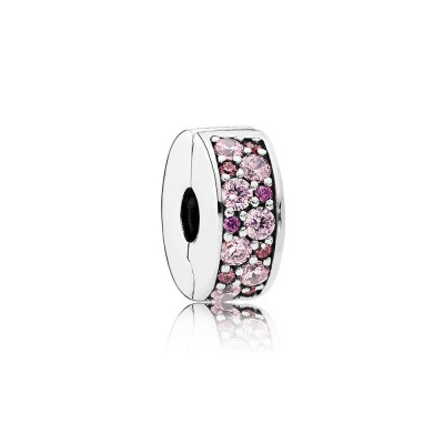 Pandora Mosaic Shining Elegance, Fancy Pink & Fancy Purple CZ