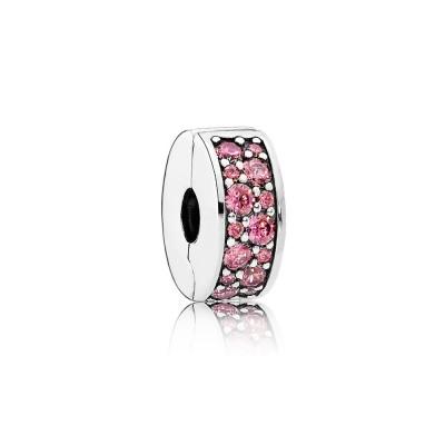 Pandora Shining Elegance, Honeysuckle Pink CZ