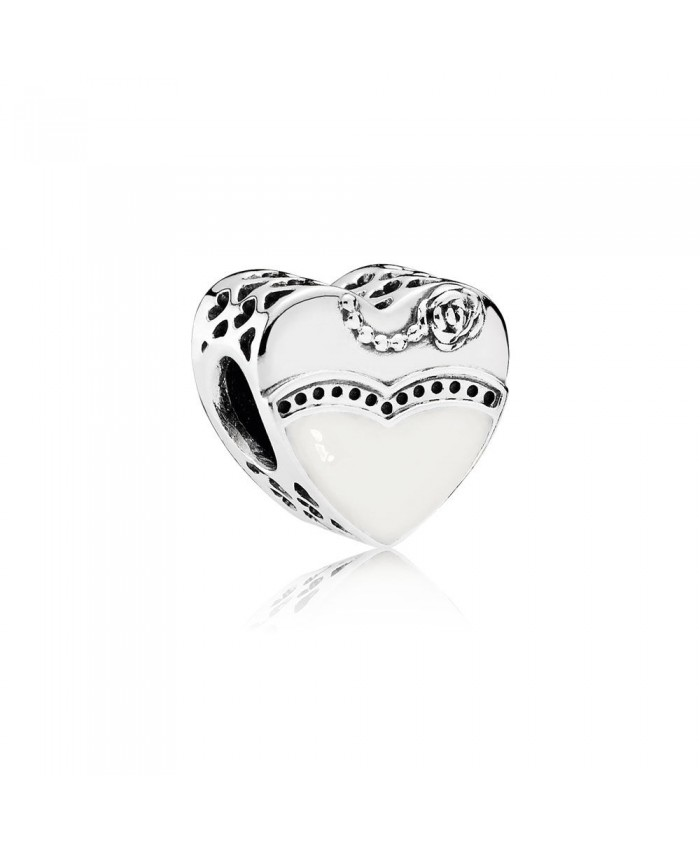 Pandora Our Special Day, Black & White Enamel