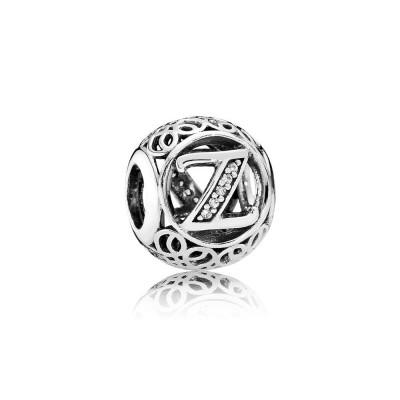 Pandora Vintage Z, Clear CZ