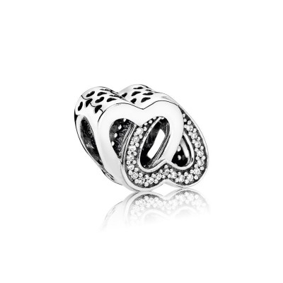 Pandora Entwined Love, Clear CZ