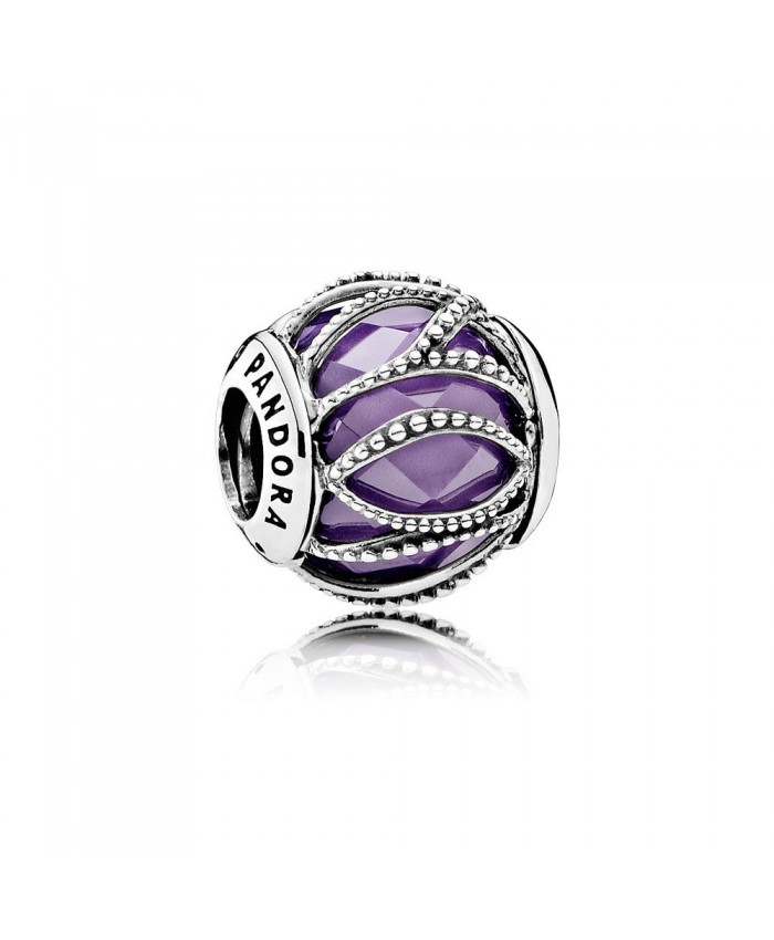 Pandora Intertwining Radiance, Purple & Clear CZ