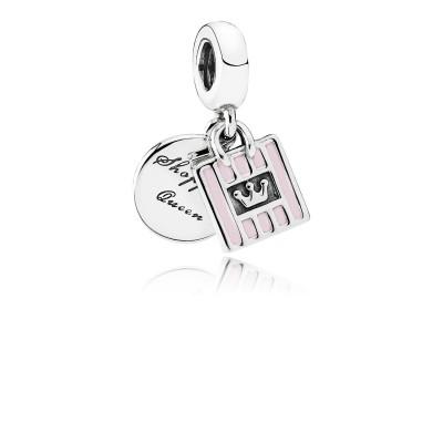 Pandora Shopping Queen, Soft Pink Enamel