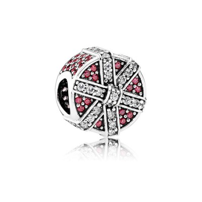 Pandora Shimmering Gift, Red & Clear CZ
