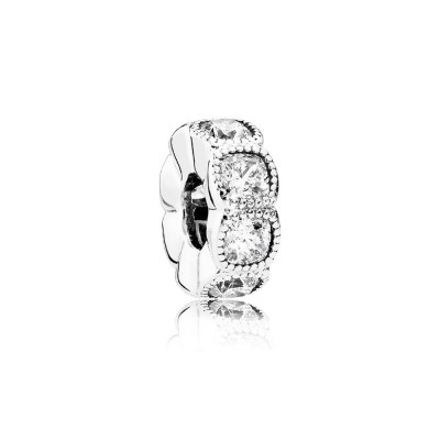 Pandora Alluring Cushion, Clear CZ