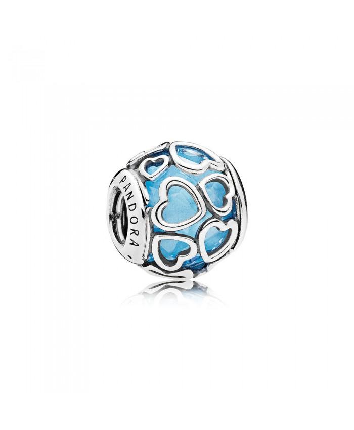 Pandora Encased in Love, Sky Blue Crystal