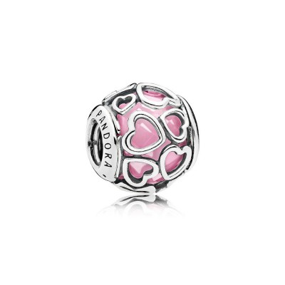Pandora Encased in Love, Pink CZ