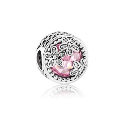 Pandora Dazzling Daisy Meadow, Pink & Clear CZ