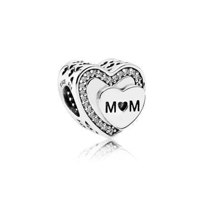 Pandora Tribute to Mom, Clear CZ