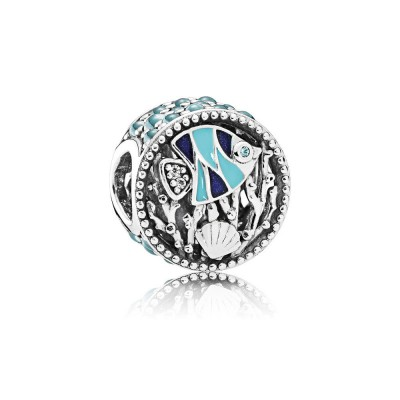 Pandora Ocean Life, Mixed Enamel & Multi-Colored CZ