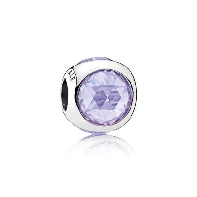 Pandora Radiant Droplet, Lavender CZ