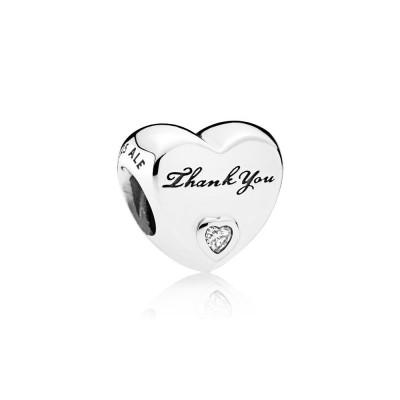 Pandora Thank You, Clear CZ