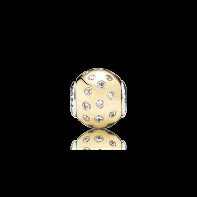 Pandora DIGNITY, 14K Gold & Clear CZ