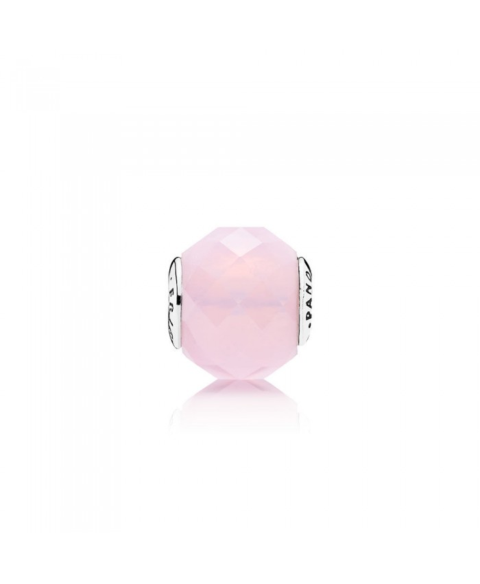Pandora FRIENDSHIP, Opalescent Pink Crystal