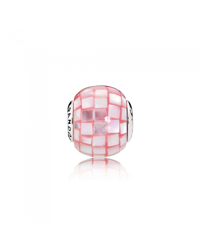 Pandora COMPASSION, Pink Mother-of-Pearl Mosaic