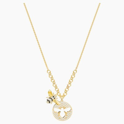 Swarovski Lisabel Necklace White Gold-tone Plated