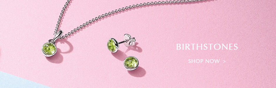 AUGUST BIRTHSTONES. Shop Now.